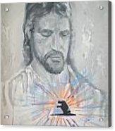 Cast Your Care On Him Acrylic Print by Raymond Doward