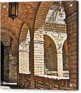 Castello Amorosa Acrylic Print by Italian Art