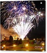 Castle Illuminations Acrylic Print by John Kelly