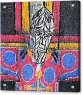 Catalan Jesus Acrylic Print by Marwan George Khoury