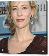 Cate Blanchett At Arrivals Acrylic Print by Everett