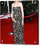 Cate Blanchett Wearing A Balenciaga Acrylic Print by Everett