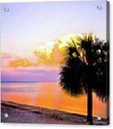 Cedar Key Sunset Acrylic Print by Shannon Harrington