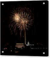 Celebrating America From The Captial Acrylic Print by David Hahn