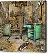 Cell Block 5 Acrylic Print by Paul Ward