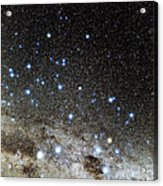 Centaurus And Crux Constellations Acrylic Print by Eckhard Slawik
