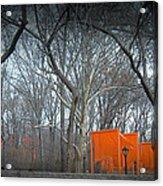 Central Park Acrylic Print by Naxart Studio
