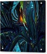 Certain Inner Peace Fx  Acrylic Print by G Adam Orosco