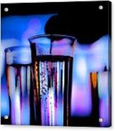Champagne Acrylic Print by Hakon Soreide