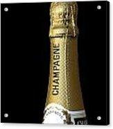 Champagne Neck Acrylic Print by Richard Thomas
