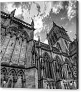 Chapel Of St. John's College - Cambridge Acrylic Print by Yhun Suarez