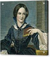 Charlotte Bronte Acrylic Print by Granger