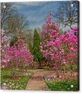 Cheekwood Gardens Acrylic Print by Charles Warren