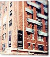 Chelsea Market New York City Acrylic Print by Kim Fearheiley