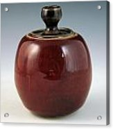 Cherry Jar Acrylic Print by Alejandro Sanchez