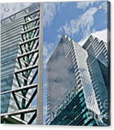 Chicago - City Of Big Shoulders Acrylic Print by Christine Till