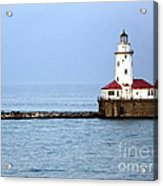 Chicago Lighthouse Acrylic Print by Sophie Vigneault
