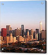 Chicago Panoramic  Acrylic Print by Jeff Lewis