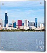 Chicago Skyline Acrylic Print by Paul Velgos
