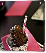Chocolate Malt Acrylic Print by Malania Hammer