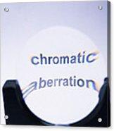 Chromatic Aberration Acrylic Print by Andrew Lambert Photography
