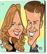 Cindy And Jordan Acrylic Print by Chris Berg