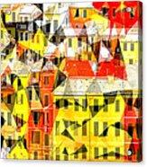 Cinque Acrylic Print by Ilias Athanasopoulos