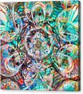 Circles Of Life Acrylic Print by Mo T