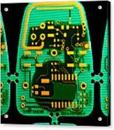 Circuit Boards Acrylic Print by Adam Hart-davis