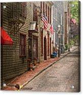 City - Rhode Island - Newport - Journey  Acrylic Print by Mike Savad