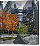 City Of Gold Acrylic Print by Donald Davis