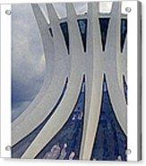 Citymarks Brasilia Acrylic Print by Roberto Alamino