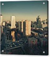 Cityscape Of Beijing, China Acrylic Print by Yiu Yu Hoi