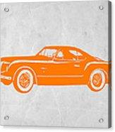 Classic Car 2 Acrylic Print by Naxart Studio