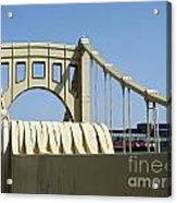 Clemente Bridge Acrylic Print by Chad Thompson