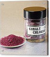 Cobalt Chloride Acrylic Print by Andrew Lambert Photography