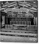 Coconut Shy 2 Acrylic Print by Adrian Evans