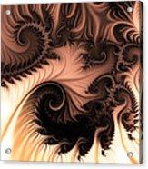 Coffee And Cream Acrylic Print by Sharon Lisa Clarke