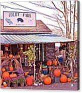 Colby Farm Acrylic Print by Kristine Patti