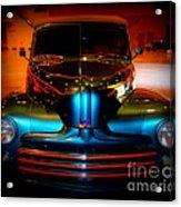 Collector Car Acrylic Print by Susanne Van Hulst