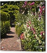 Colorful Flower Garden Acrylic Print by Elena Elisseeva