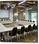 Conference Room Acrylic Print by Jaak Nilson