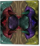 Conjoint - Multicolor Acrylic Print by Christopher Gaston