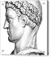 Constantine I (d. 337) Acrylic Print by Granger