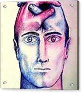 Contralateral Stimuli Acrylic Print by Paulo Zerbato