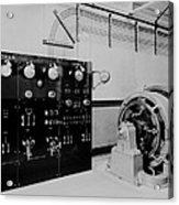 Control Panel And Dynamo Generator Acrylic Print by Everett