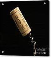Cork Of Bottle Of Saint-emilion Acrylic Print by Bernard Jaubert
