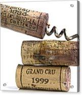 Cork Of French Wine Acrylic Print by Bernard Jaubert