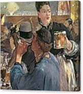 Corner Of A Cafe-concert Acrylic Print by Edouard Manet
