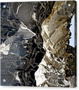 Corrosion By Nature Acrylic Print by Kaye Menner